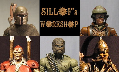 Toy Modder Puts Eclectic Spin On All Your Favorite Action Heroes