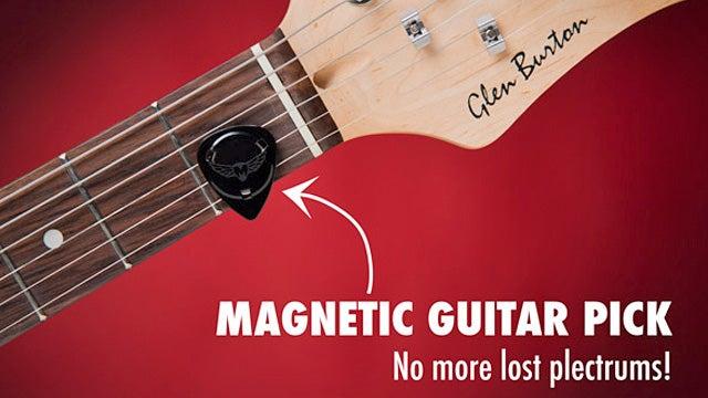 Magnetic Guitar Picks Eliminate Free Rock Concert Souvenirs