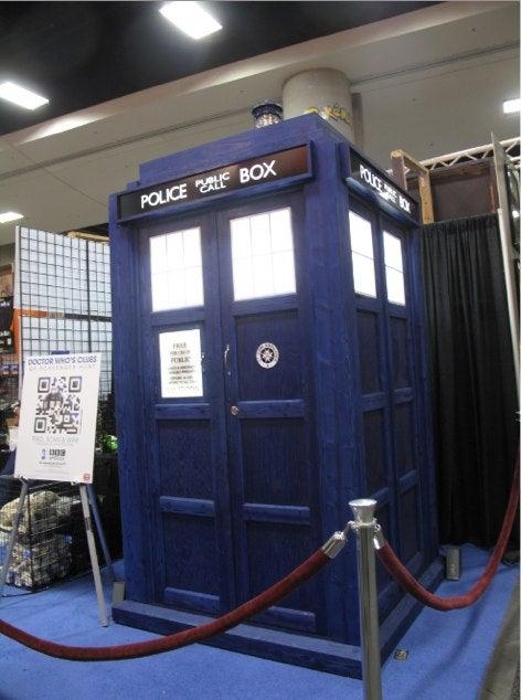 TARDIS Burritos and Twilight Spaz Bags: Comic-Con Radvertising