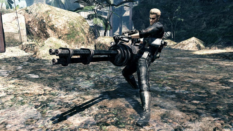 You Got Albert Wesker In My Lost Planet 2