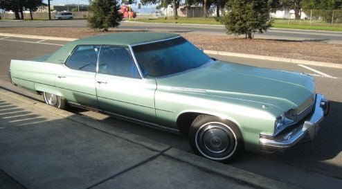 1973 Buick Electra 225, With Bonus 1973 Poll