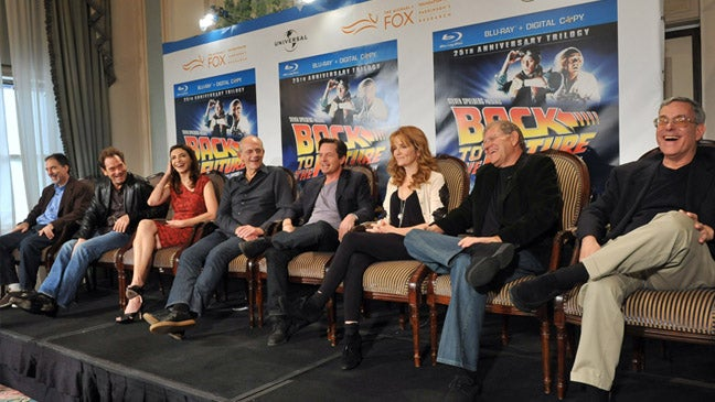 Things we learned at the Back To The Future reunion