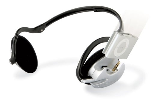 Monster iFreePlay Headphones Turn 2G iPod Shuffle Into Headgear