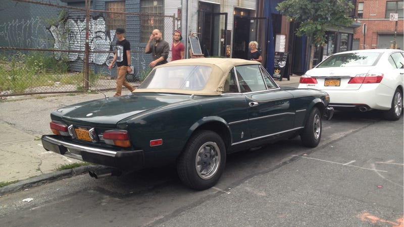 This Fiat Spider Might Be Worth The Cost Of Ownership