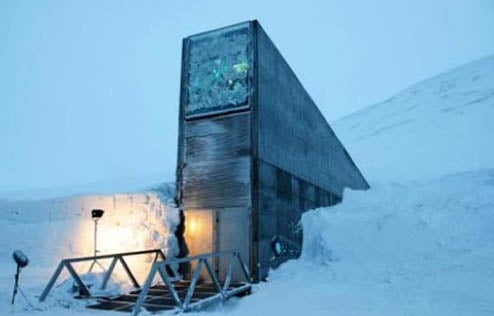 A Peek Inside the Doomsday Seed Vault