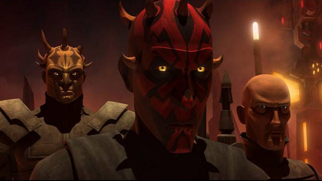 Darth Maul & Savage Oppress team up with Death Watch on Clone Wars
