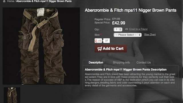 How a Bad Chinese Translation Program Caused a Fake Racism Scandal for Abercrombie & Fitch