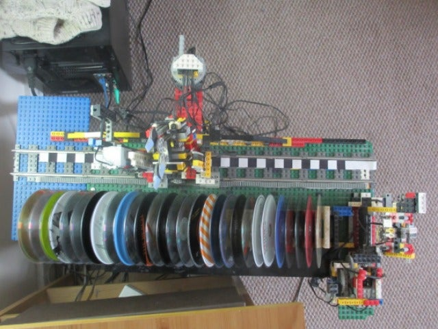 All It Takes Is a Lego Jukebox To Make Your CDs Almost Useful Again