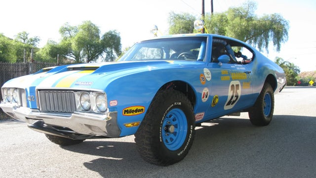 Here's Your Chance To Own The Oldsmobile 442 James Garner Raced In Baja