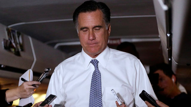 What Were Ann and Mitt Romney Watching on TV Instead of the Inauguration Today?