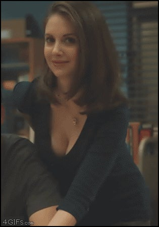 Alison Brie GIFs (maybe NSFW)