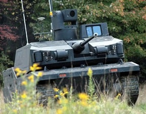 Army Rolls Out Autonomous Black Knight Unmanned Combat Vehicle, Father of the Robot Overlords