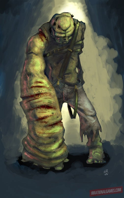 Yam Hand? Jelly Man? BioShock Monsters That Might Have Been