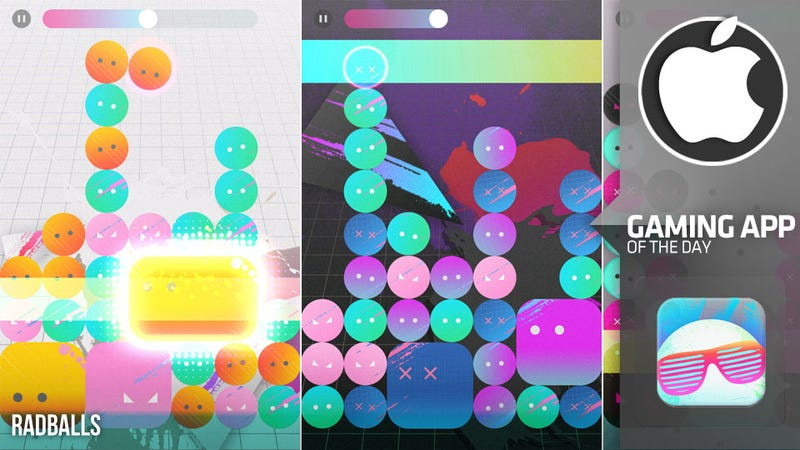 Radballs Is, Like, A Totally Rad Rhythm Puzzle Game for iOS