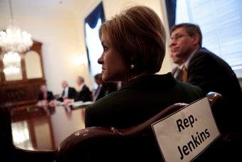 """Rep. Jenkins Seeks """"Great White Hope"""" To Thwart Obama"""
