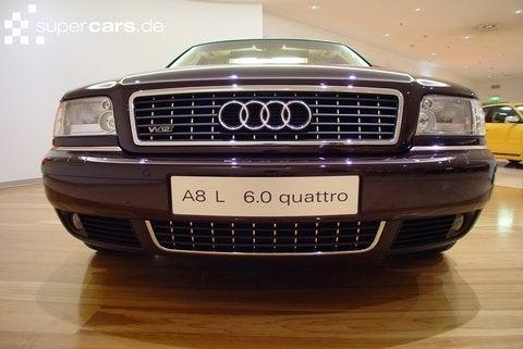 The first-gen A8L W12