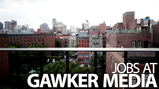 Gawker Is Looking for a Design Assistant