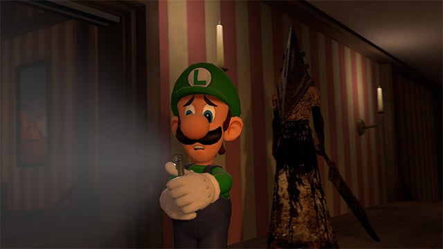 No Wonder Luigi's Scared in That Mansion, it Looks Terrifying