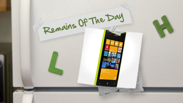 Remains of the Day: Windows Phone 8 Is On The Way