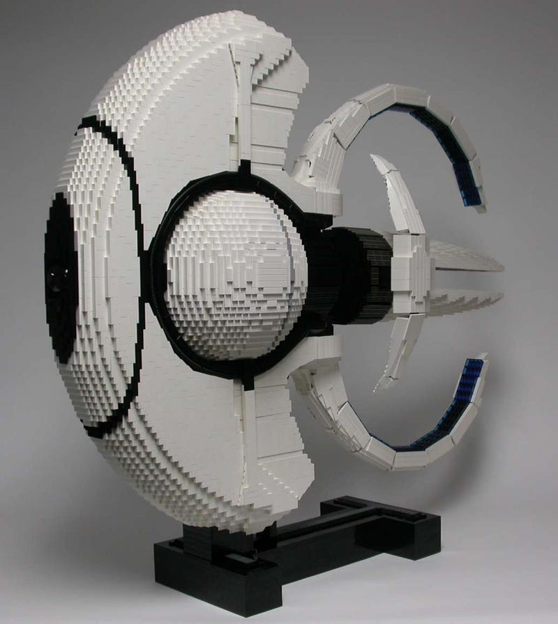 Big Baddass Lego Spock's Ship