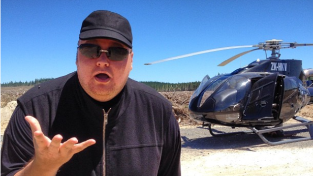 Kim Dotcom Is Bringing His Political Party to the US in 2015