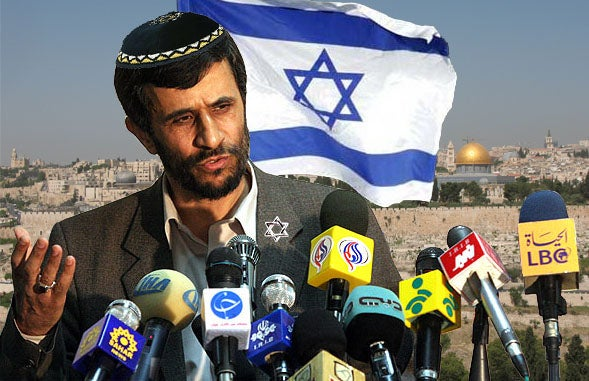Maybe Jewish Iranian President Ahmadinejad Now Has Power To Nuke His Guilty Past