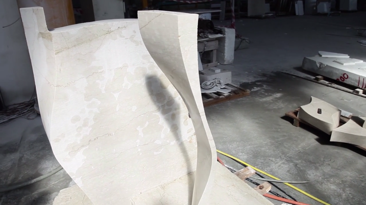Watch This Diamond-Dusted Robot Saw Through Marble Like It's Hot Butter