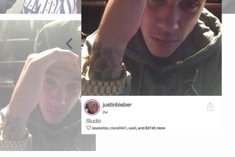 Bieber's Selfie App Is a Total Dud