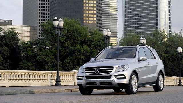 Here's the 2012 Mercedes-Benz M-Class