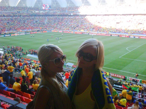 Paris Hilton Arrested for Pot at World Cup