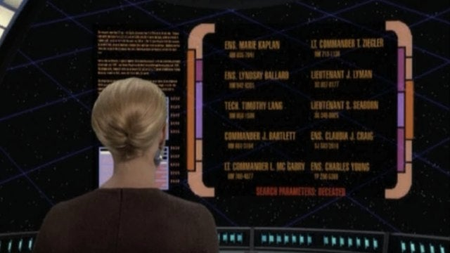 That time Star Trek: Voyager killed off the cast of The West Wing