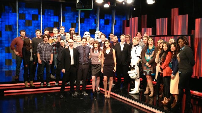 The Cast And Crew Of G4's X-Play Say Goodbye