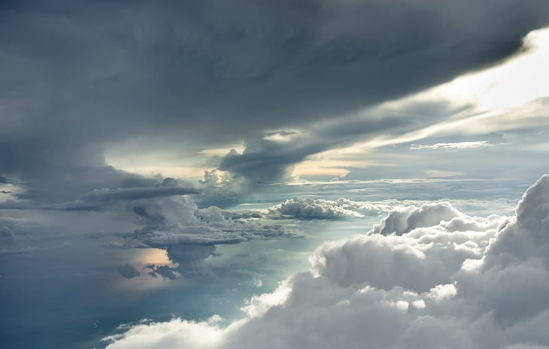 Crazy Photographer Captures Perfect Clouds Four Miles Up In the Sky