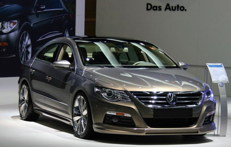 VW Passat CC Gold Coast Concept: Incredibly Sexy