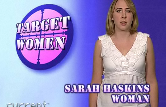 Sarah Haskins Has Ladyfriends & Movie News
