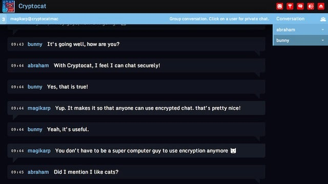 Cryptocat for Mac Creates a Private, Disposable Chatroom on Your Desktop