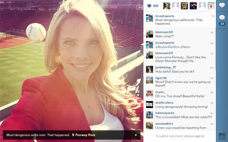 Rays Reporter Captures Moment Of Her Near-Death With A Selfie