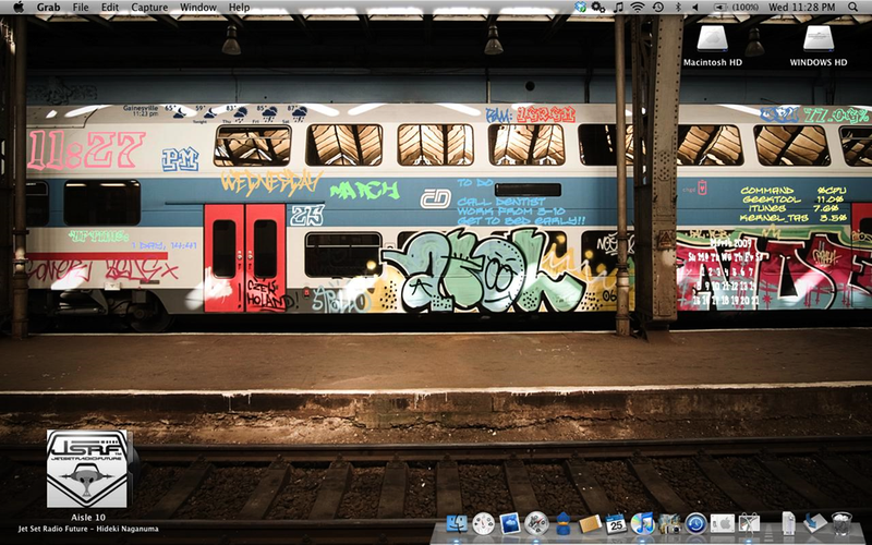 The Graffiti Desktop