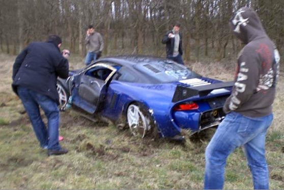 Priceless Speed Record-Challenging Porsche 9ff GT9-R Totaled!