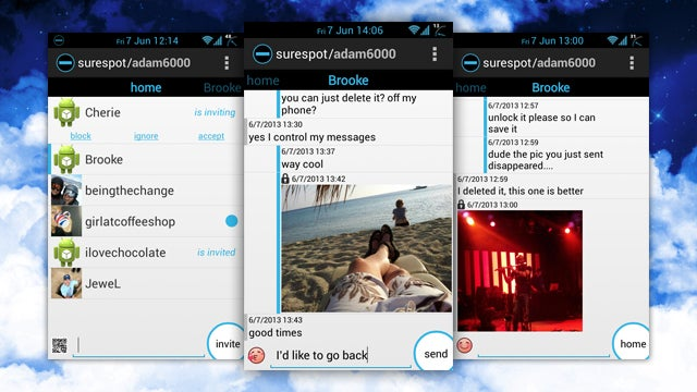 Surespot for Android Offers Free, End-to-End Encrypted Chats On the Go