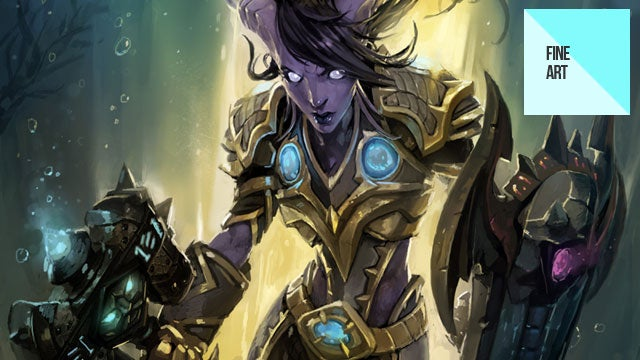 This World of Warcraft Art Takes it to the Brink (I'm Sorry...)