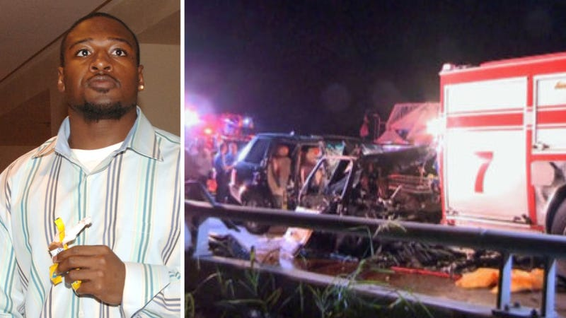 Ex-NFL Player Brian Iwuh Crashes Into Fire Truck, Injures Firefighter