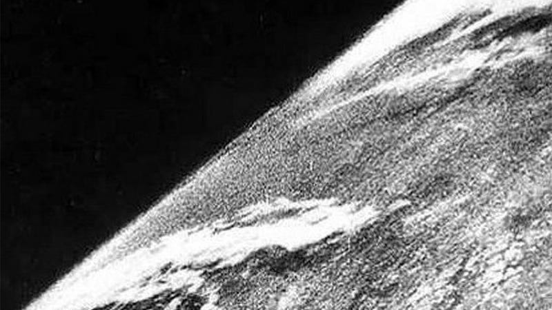 This Is the First Picture Ever Taken From Space—and It Was Taken From a Nazi Rocket