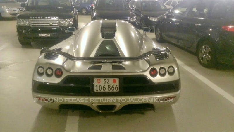Some Asshat Abandoned A Pristine $2 Million Supercar In A Swiss Parking Garage