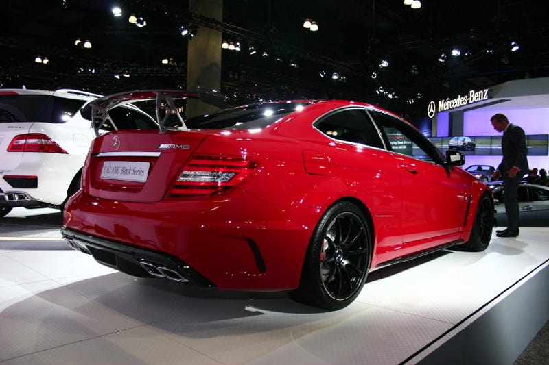 Mercedes C63 AMG Black Series: Live Photos