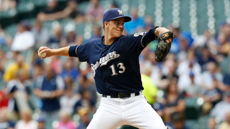 Zack Greinke Has Been Traded To The Angels