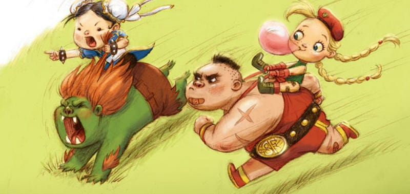 Like Muppet Babies, Only For Street Fighter