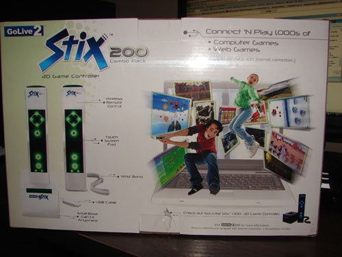 Stix 200 Impressions - Looks Like A Wii Remote, And That's All