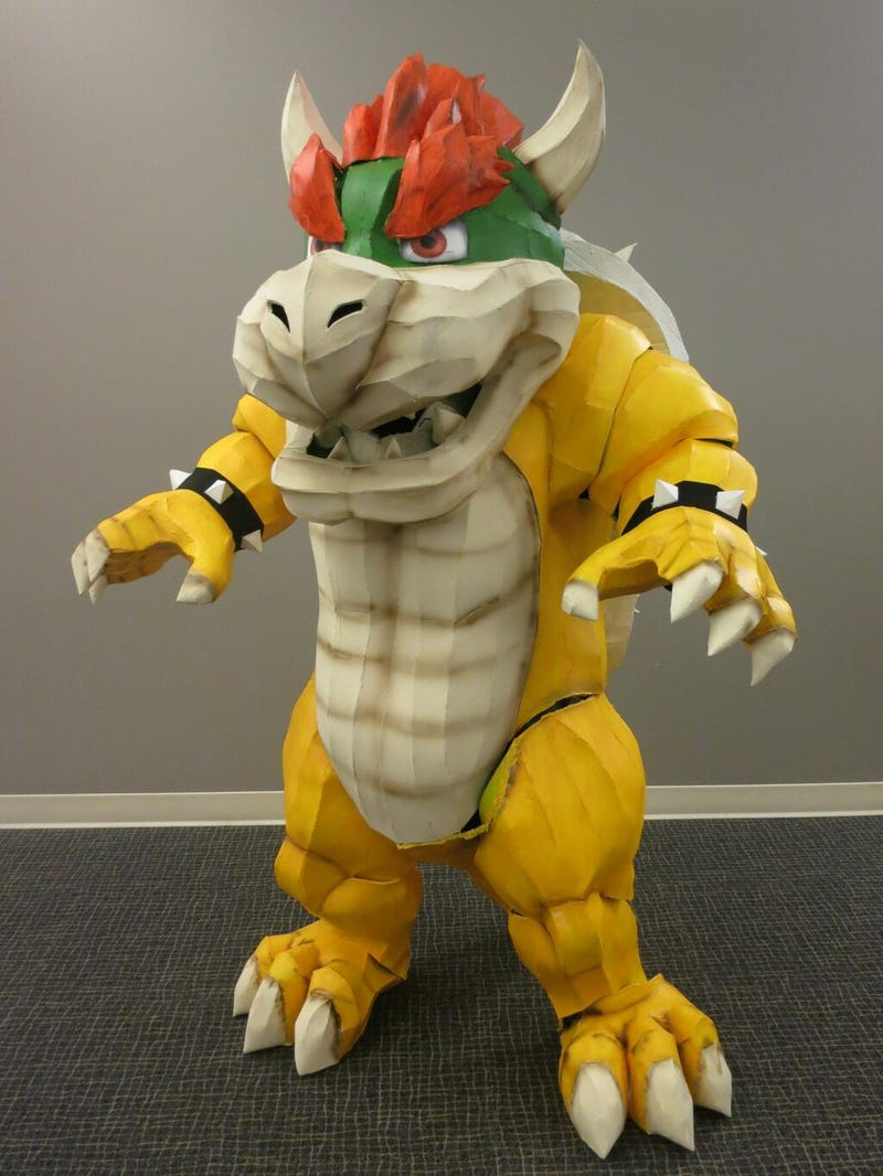 Bowser Makes For An Incredible Halloween Costume