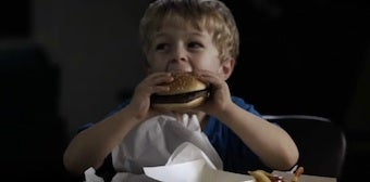 PSA: Feeding Kids Hamburgers Is Like Giving Them Heroin